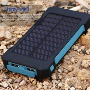 info for 0c980 e92fa Solar Power Bank-10,000mah Phone Charger- rubber waterproof case